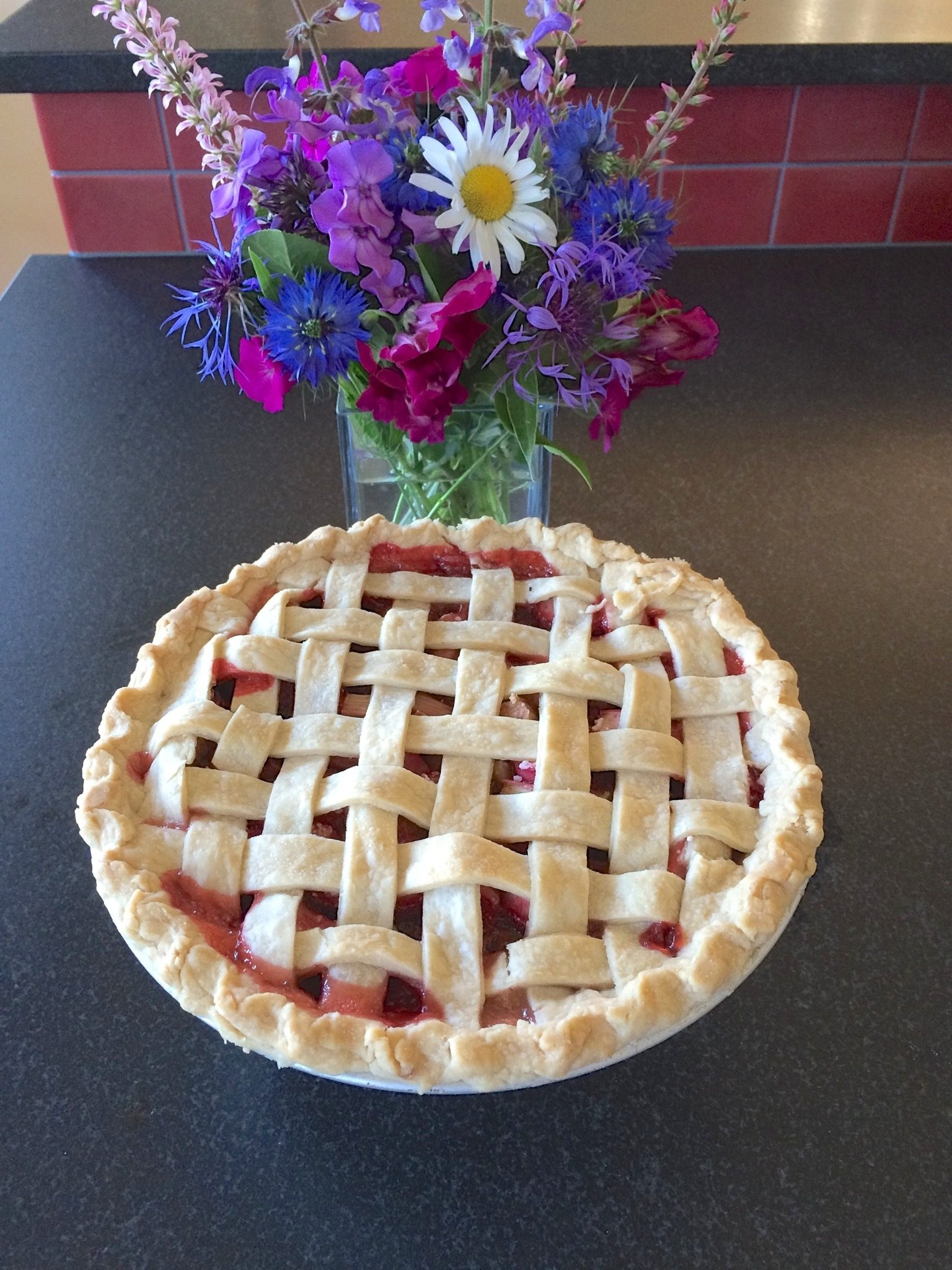 pie-and-flowers