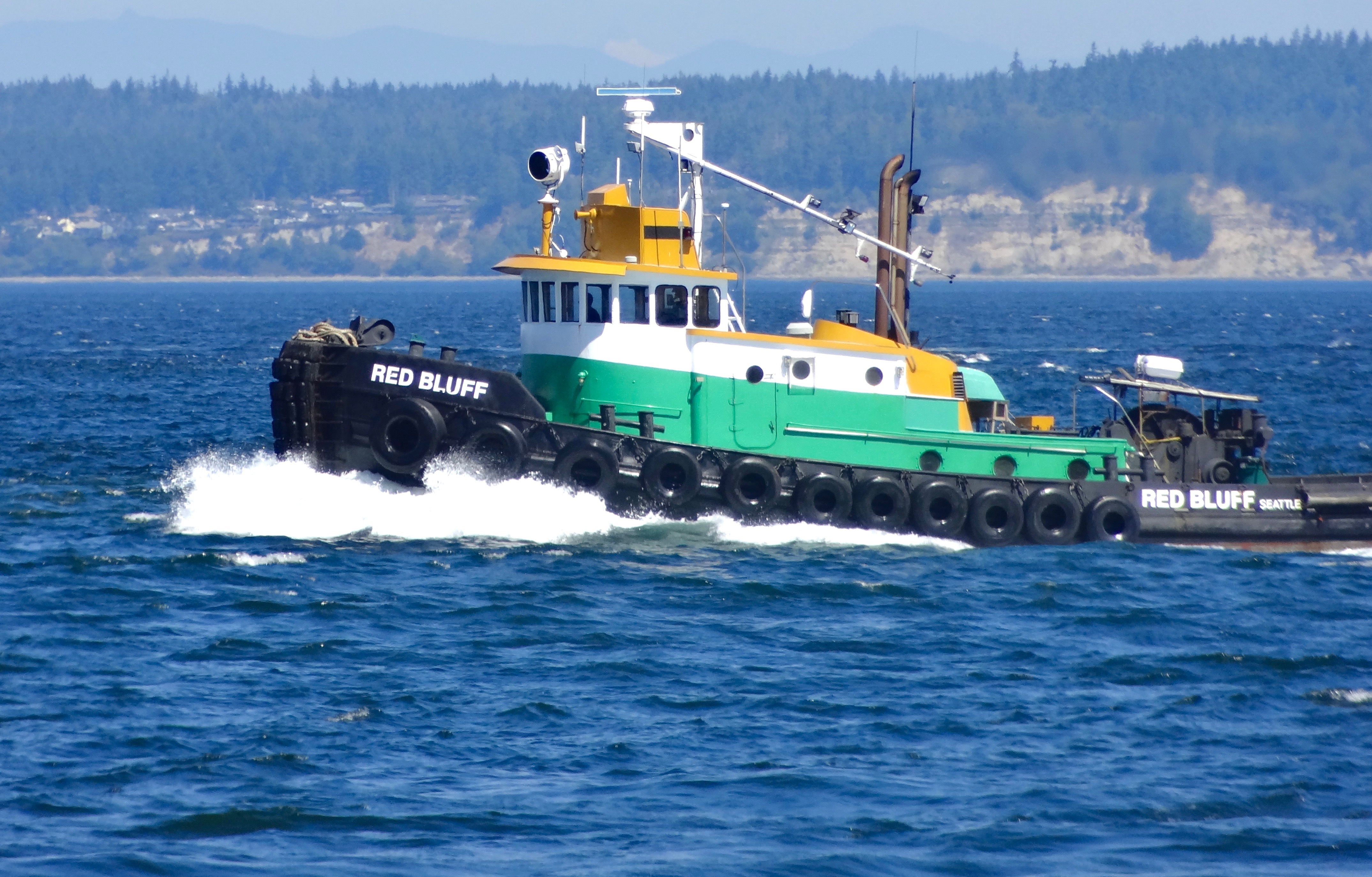 Red Bluff Tug Boat