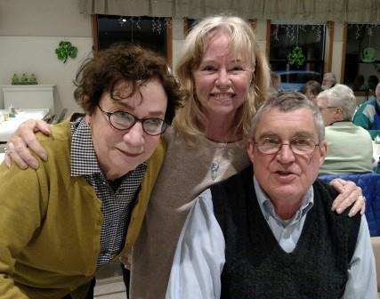 Annette & Joe Wright, Manya O'Shea