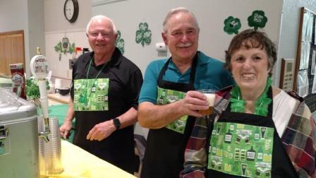 Jack Tallman, Gene & Pat DuVall